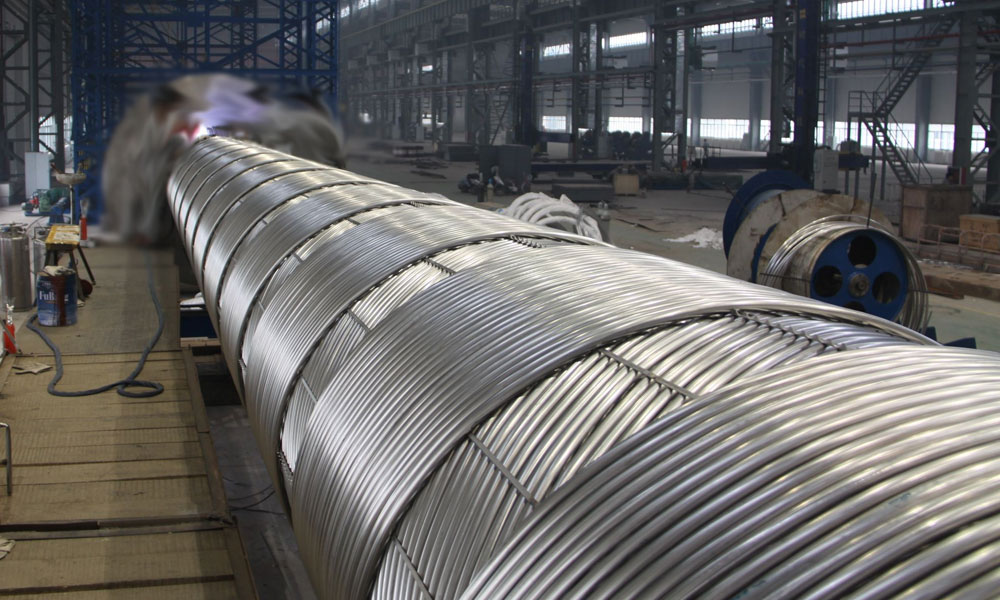 Stainless Steel 317L Coil Tubing